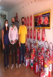 ACII visita nova associada Casa dos Extintores.