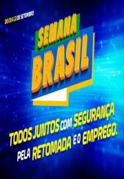 Semana Brasil começa em setembro em todo país.