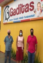 ACII visita a nova associada Escola Cristã Gaditas.